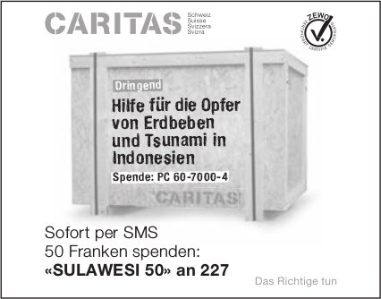Caritas - Dringend