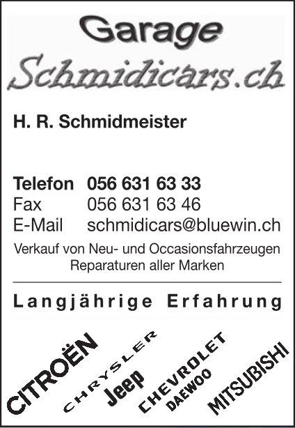 Garage Schmidicars.ch