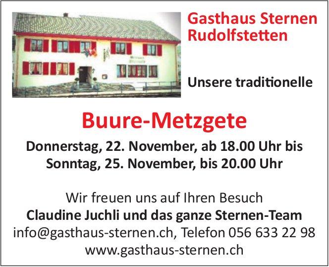 Buure-Metzgete, 22./25. Nov., Gasthaus Sternen