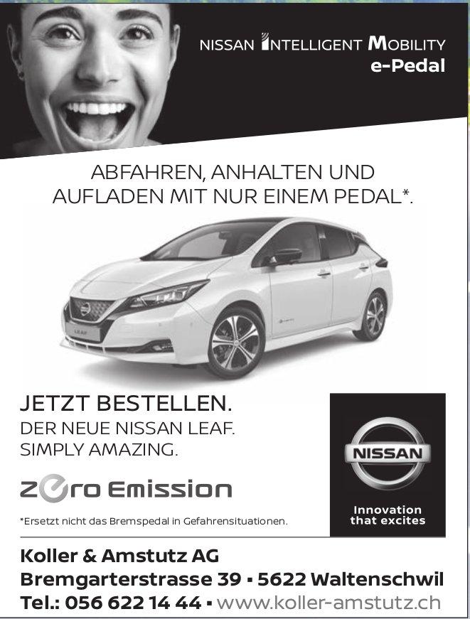 Koller & Amstutz AG in Waltenschwil - Ihre Nissan Garage in der Region