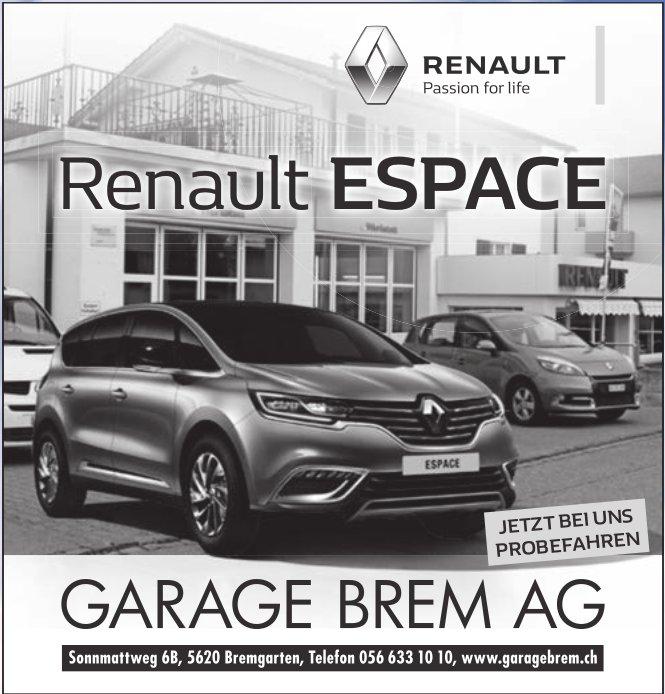 Renault Garage Brem AG in Bremgarten