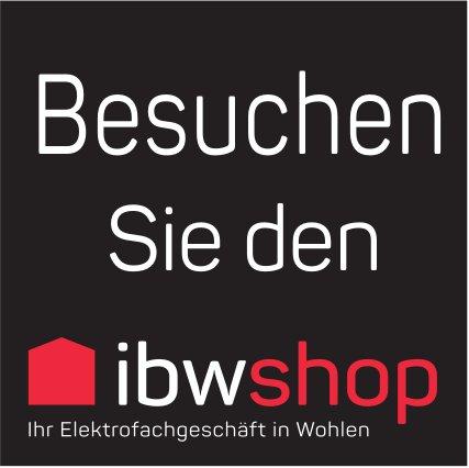 Besuchen Sie den ibwshop - Ihr Elektrofachgeschäft in Wohlen