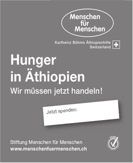 Hunger in Äthiopien, wir müssen jetzt handeln - Stiftung Menschen für Menschen