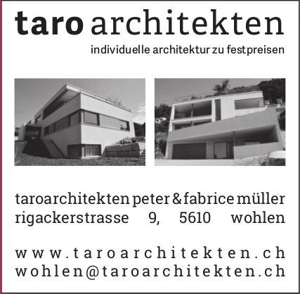 Taro Architekten - Individuelle Architektur zu Festpreisen