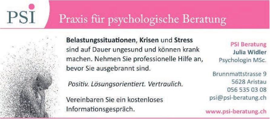 PSI Beratung - Praxis für psychologische Beratung