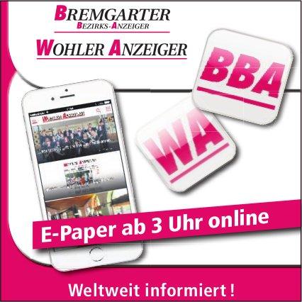 BBA/WA - E-Paper ab 3 Uhr online: Weltweit informiert!