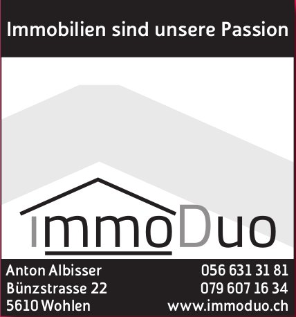 ImmoDuo - Immobilien sind unsere Passion