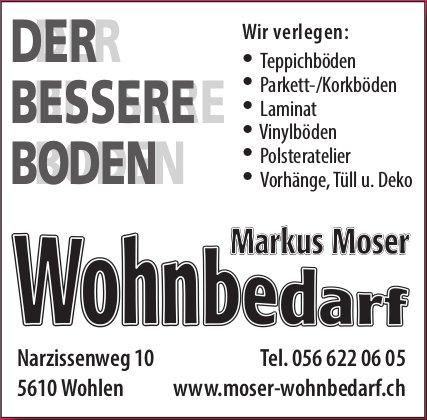 Markus Moser Wohnbedarf - Der bessere Boden
