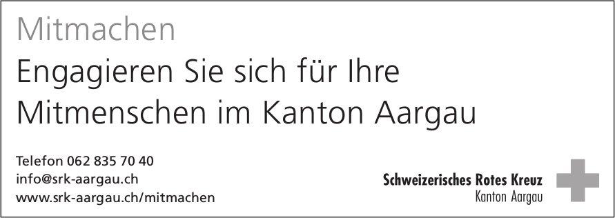 SRK - Engagieren Sie sich für Ihre Mitmenschen im Kanton Aargau