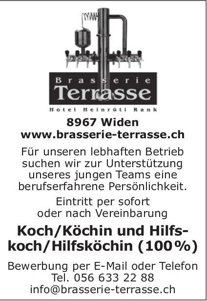 Koch/Köchin und Hilfskoch/Hilfsköchin in Widen gesucht