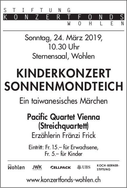 Stiftung Konzertfonds Wohlen - Kinderkonzert Sonnenmondteich am 24. März