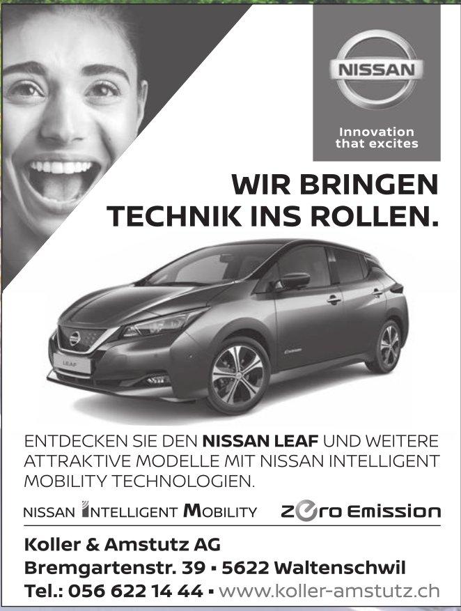 Nissan Garage Koller & Amstutz AG in Waltenschwil