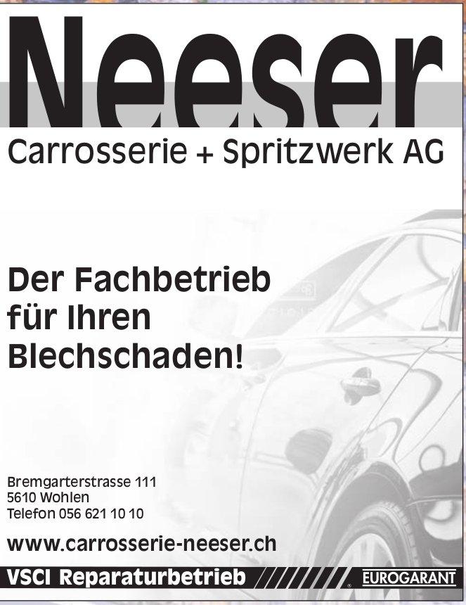 Neeser Carrosserie + Spritzwerk AG in Wohlen