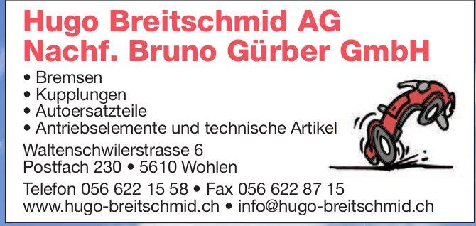 Hugo Breitschmid AG in Wohlen