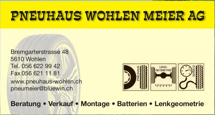 Pneuhaus Wohlen Meier AG