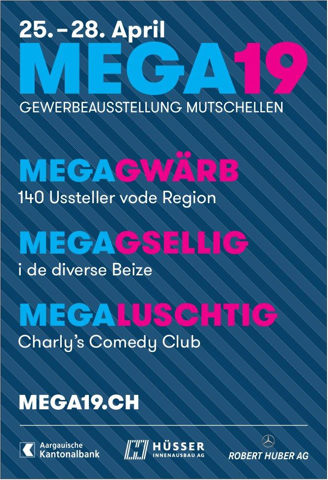 MEGA 19 vom 25. bis 28. April