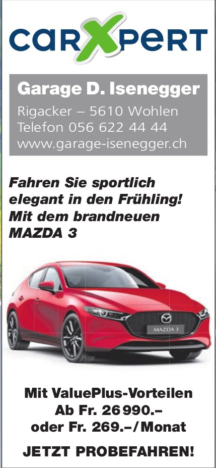 CarXpert Garage D.Isenegger in Wohlen