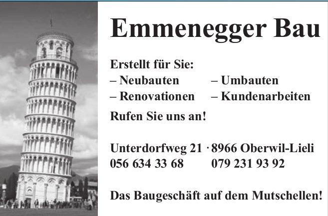 Emmenegger Bau in Oberwil-Lieli