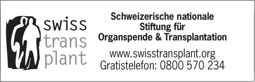Schweizerische nationale Stiftung für Organspende & Transplantation