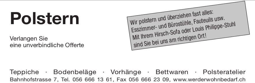 Werder Wohnbedarf - Teppiche, Bodenbeläge und Vorhänge