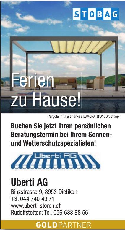 Uberti AG in Dietikon - Sonnen- und Wetterschutzspezialist