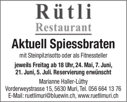 Restaurant Rütli in Muri