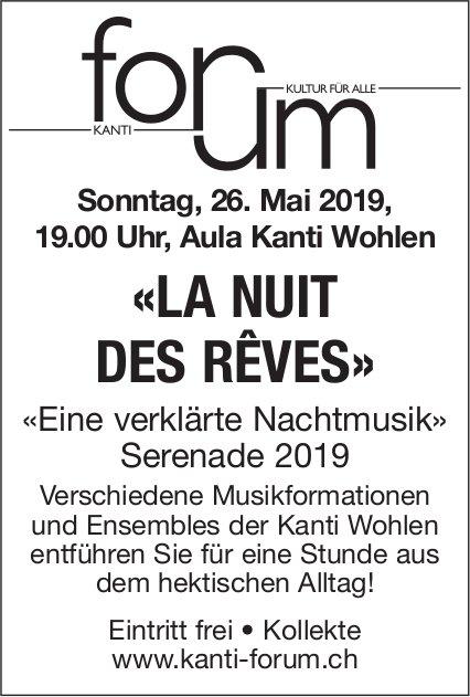 """""""La nuit des reves"""" - Konzert am 26. Mai in Wohlen"""