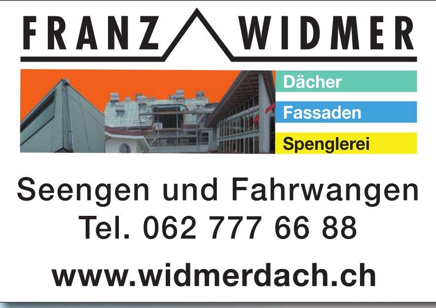 Franz Widmer Dächer, Fassaden und Spenglerei in Seengen