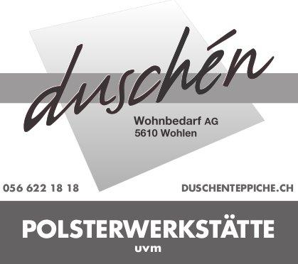 Wohnbedarf AG in Wohlen - Polsterwerkstätte