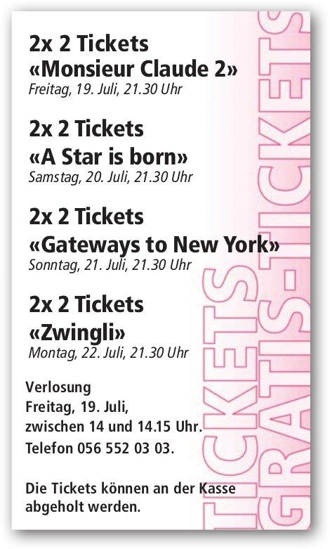 Ticketverlosung Open-Air-Kino