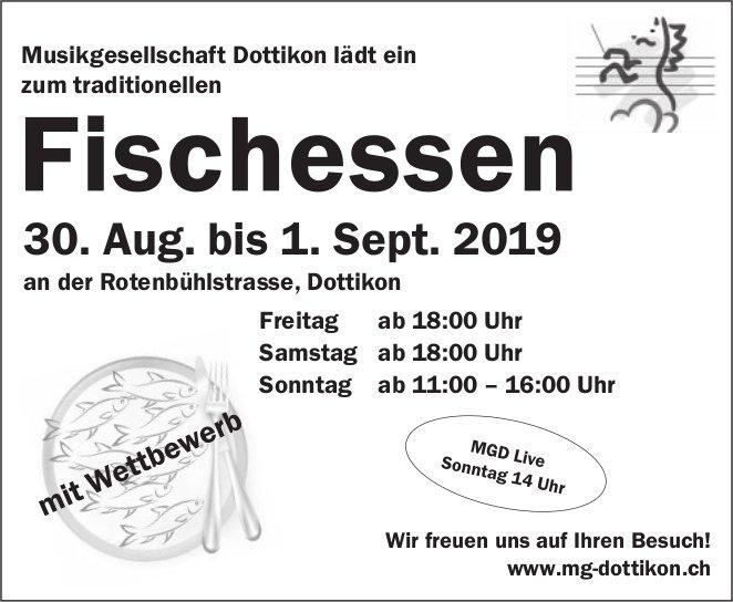 Fischessen Dottikon vom 30. August bis 1. September