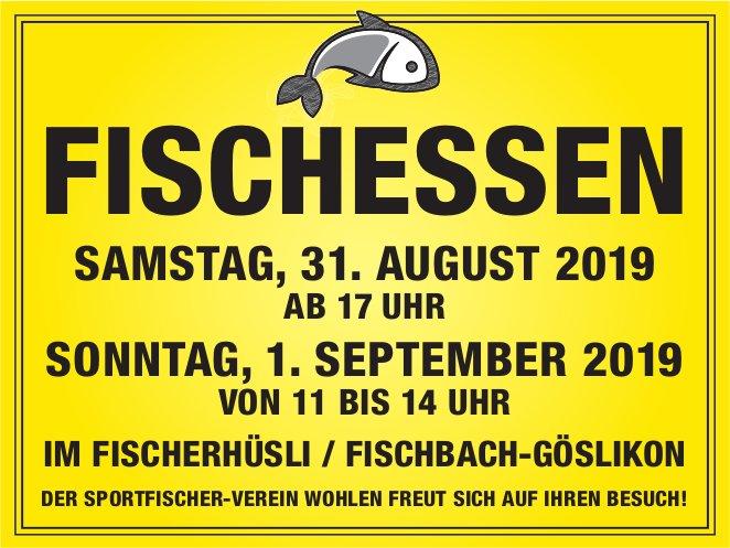 Fischessen am 31. August in Fischbach-Göslikon