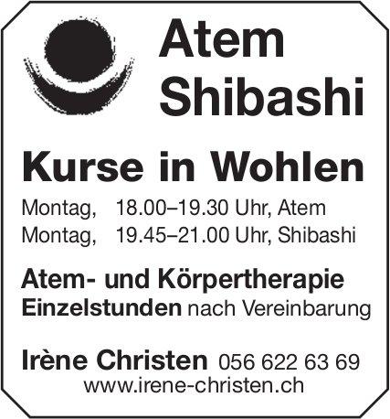 Atem Shibashi Kurse in Wohlen