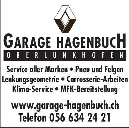 Garage Hagenbuch in Oberlunkhofen