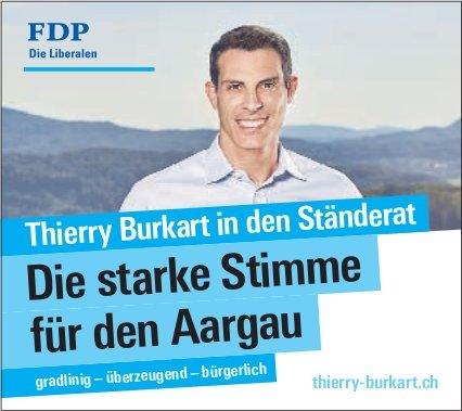 Thierry Burkart in den Ständerat