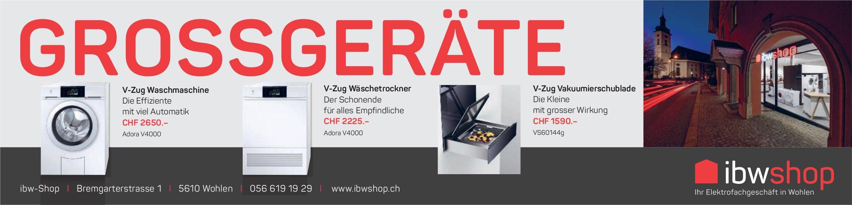 Ibw Shop in Wohlen - Grossgeräte