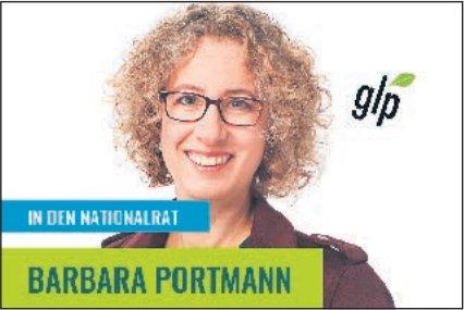 Barbara Portmann in den Nationalrat