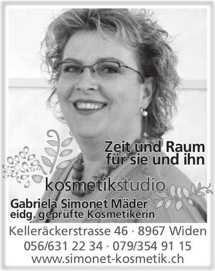 Kosmetikstudio Gabriela Simonet in Widen