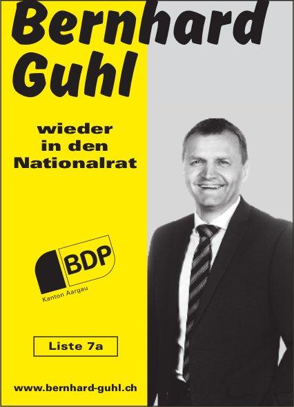 Bernhard Guhl wieder in den Nationalrat