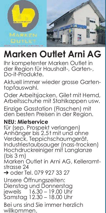 Marken Outlet Arni AG