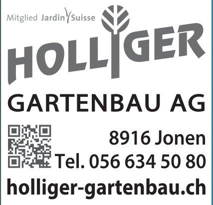 Holliger Gartenbau AG in Jonen