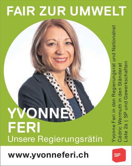 Yvonne Feri in den Regierungsrat