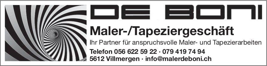 De Boni Maler-/Tapeziergeschäft in Villmergen