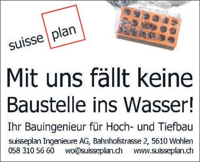 Suisseplan Ingenieure AG in Wohlen