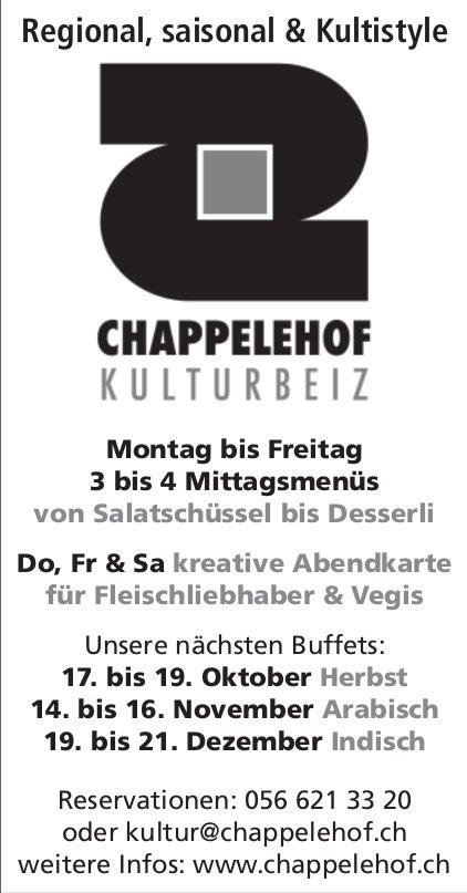 Kulturbeiz Chappelehof