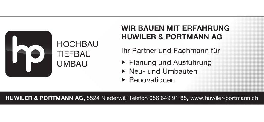 Huwiler & Portmann AG - Hochbau, Tiefbau und Umbau