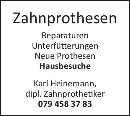 Zahnrprothesen