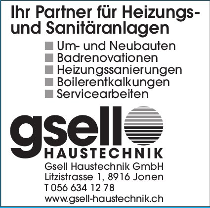 Gsell Haustechnik GmbH