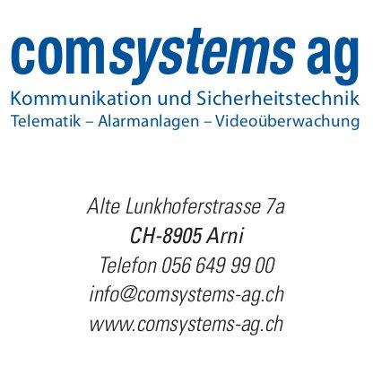 ComSystems AG Kommunikation und Sicherheitstechnik