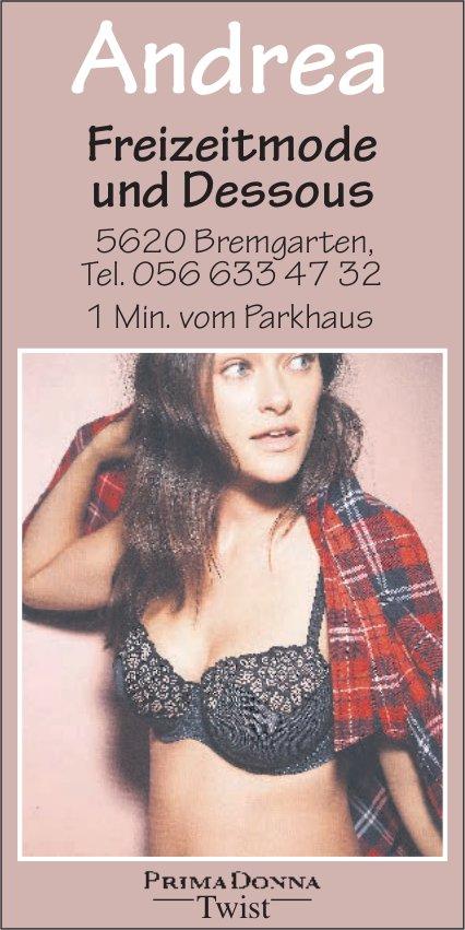 Andrea Freizeitmode und Dessous in Bremgarten